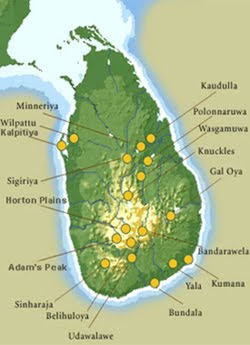 Birding Location in Sri Lanka