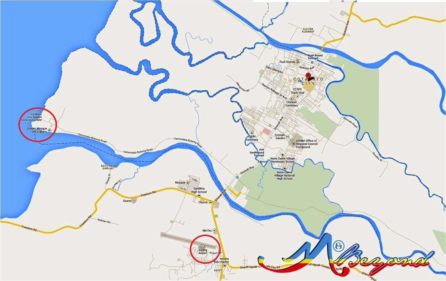 cotabato city map, map cotabato city, cotabato city airport, cotabato city mosque, what to do in cotabato, cotabato attractions