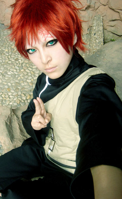 Naruto Cosplay Costumes: Gaara ------ An Ashura Only ... Gaara Cosplay