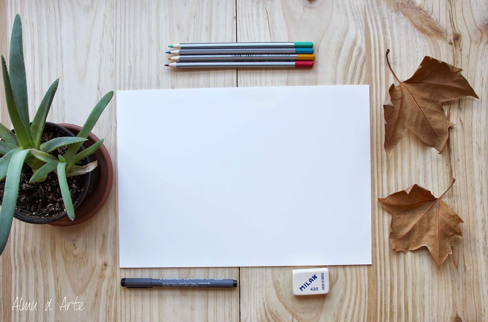 Materiales para dibujar