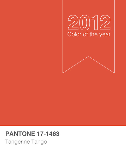 Inklings Paperie Tangerine Tango 2012 Color Of The Year