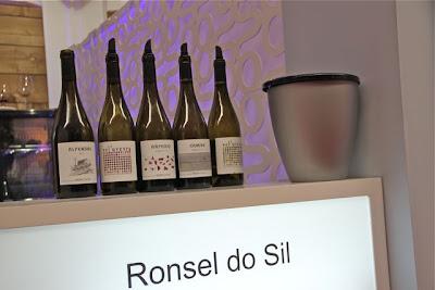 Ronsel do Sil. Cinco vinos espectaculares todos ellos. Blog Esteban Capdevila