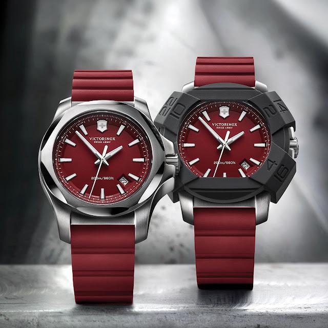 Victorinox I.N.O.X. Red 130th anniversary Watch