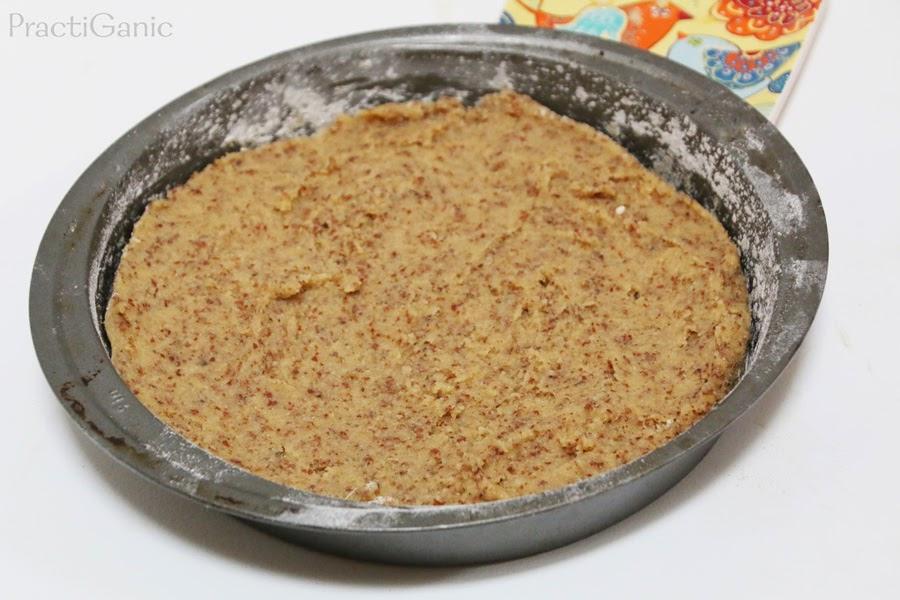 Egg Free Almond Flour Maple Syrup Cake
