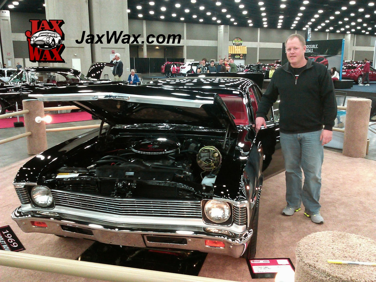 1969 Chevy Nova Carl Casper Auto Show Jax Wax Customer