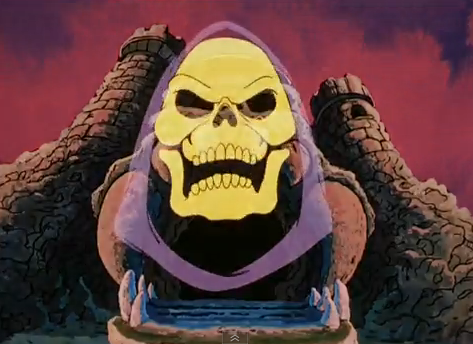 He-Man and the Masters of the Universe Skeletor and Castle Grayskull