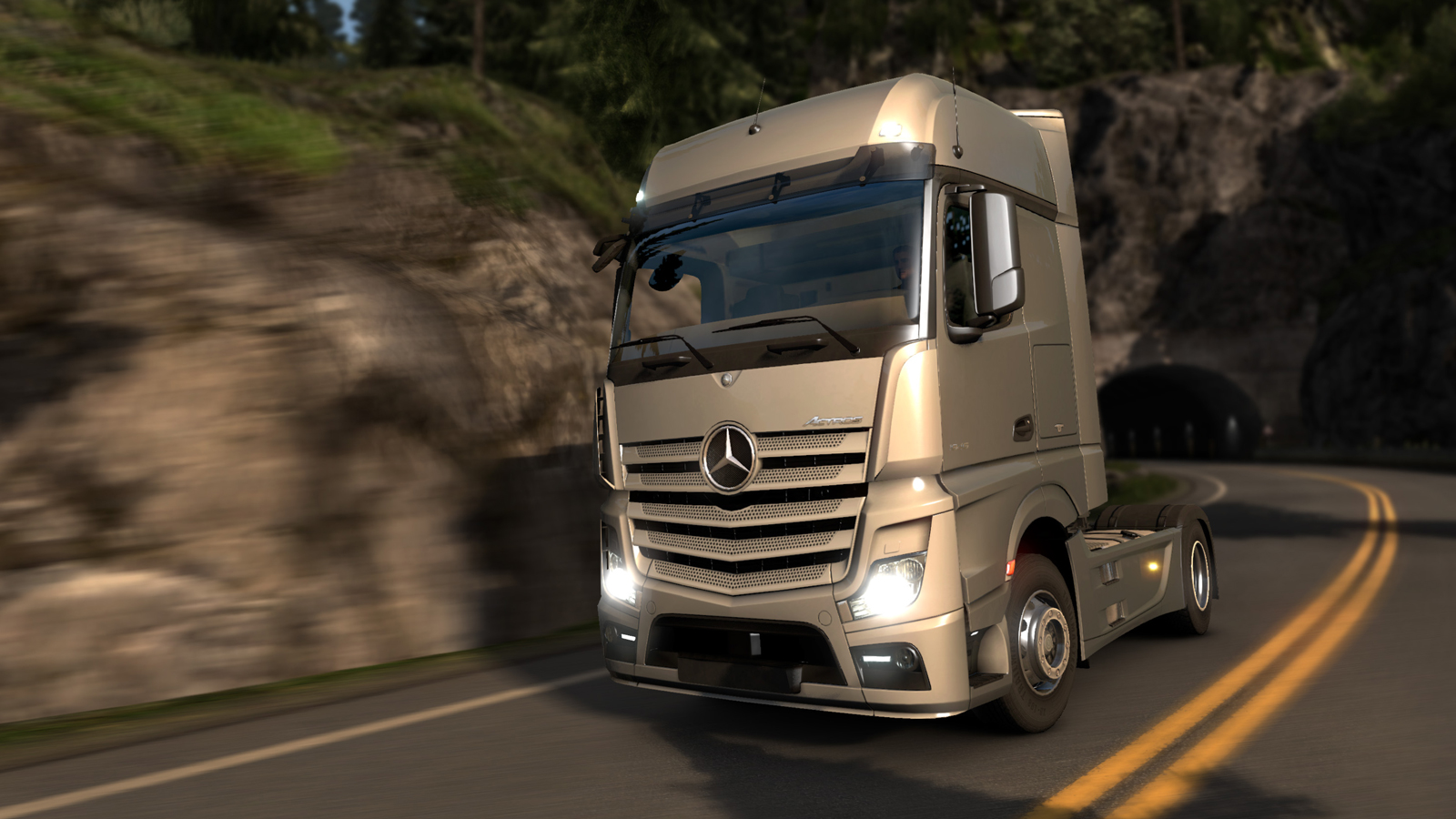 Mercedes benz joining the euro truck simulator 2 garage soon