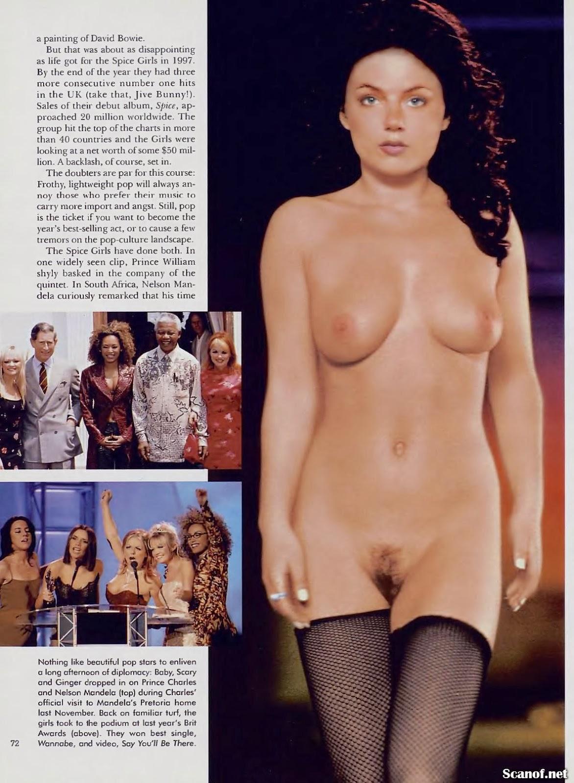 Geri Halliwell | Playboy USA [May 1998] | boob press photos