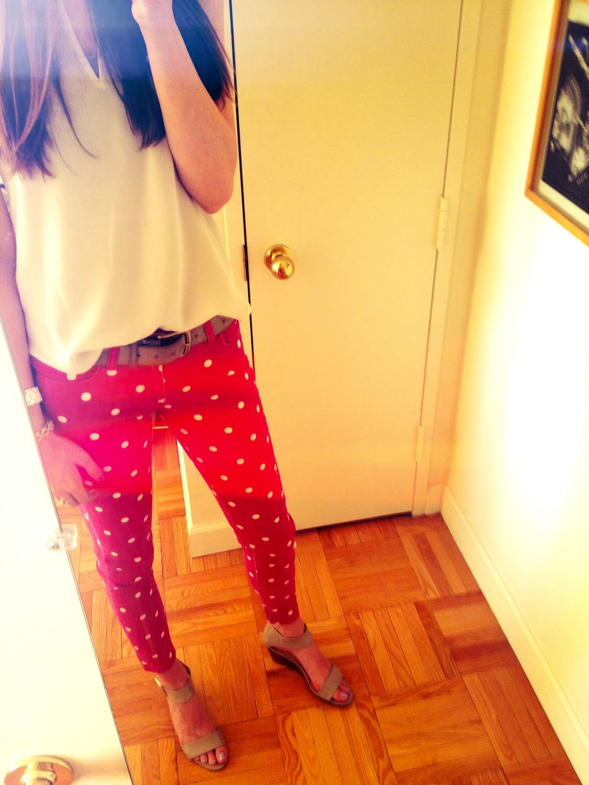 To fall into love those red polka dot pants those red polka dot pants sisterspd