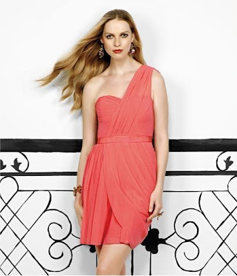 Jessica+Simpson+One-Shoulder+Dress