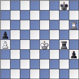 Posición de la partida de ajedrez Soler-Tartakover en el Torneo Internacional de Ajedrez Barcelona 1929
