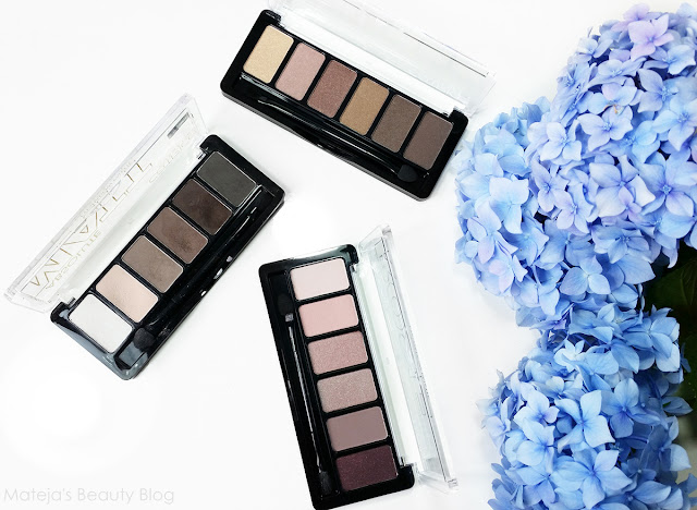 Catrice Absolute Nude and Rose Eyeshadow Palettes