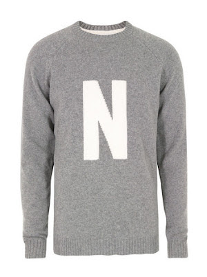 Norse Projects N Grey Sweater