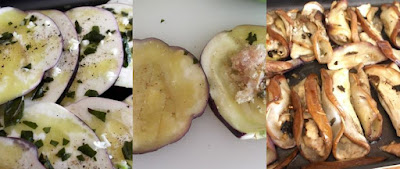 Involtini semplici di melanzana e pesce azzurro ricetta di pesce e verdura
