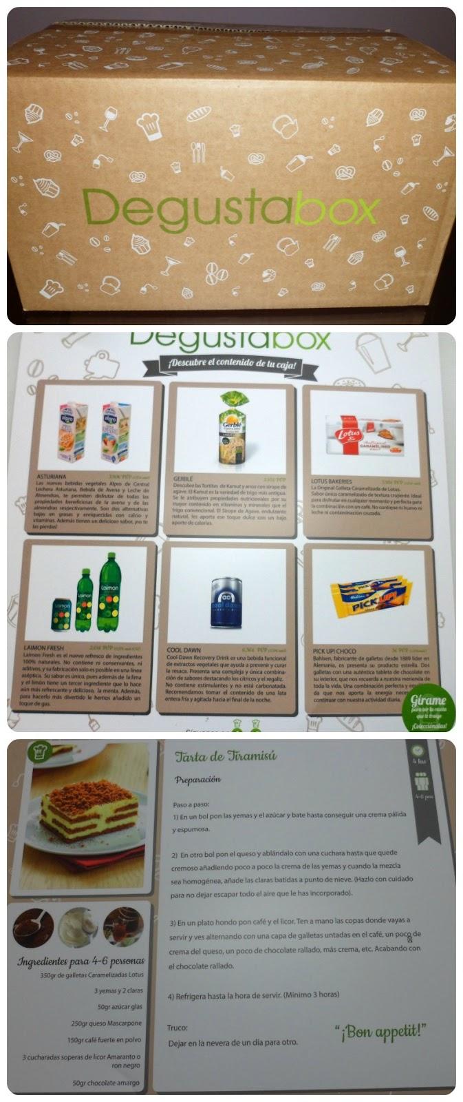 Degustabox Septiembre 2013