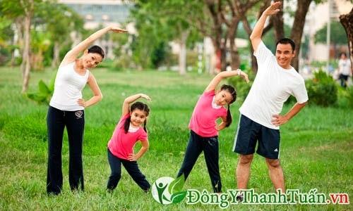 Cách phòng tránh bệnh viêm mũi dị ứng - Tập thể dục thường xuyên
