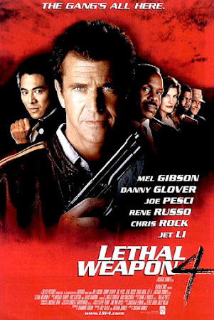 Poster Of Lethal Weapon 4 1998 In Hindi Bluray 720P Free Download