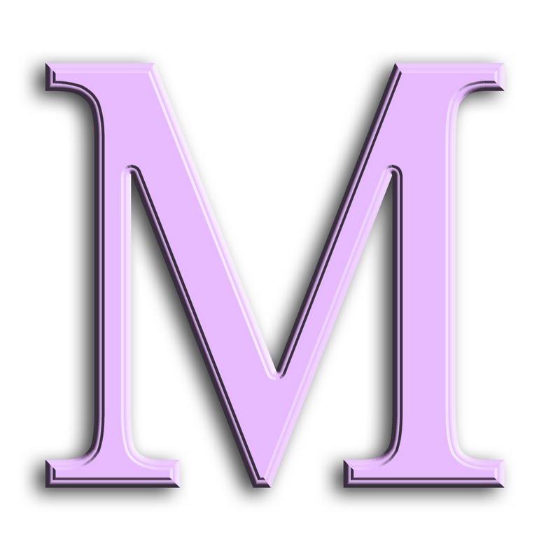 Capital Letter M GRANNY ENCHANTED'S BLO...