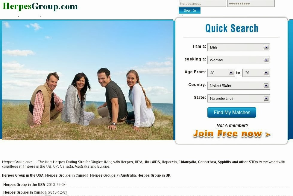 Herpes dating site chicago