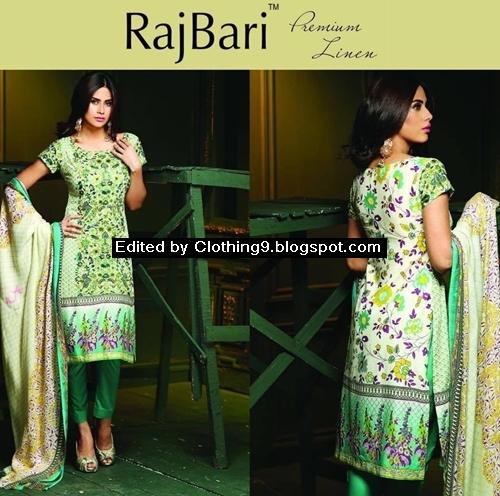 RajBari Winter Embroidered Linen Shawl Dresses