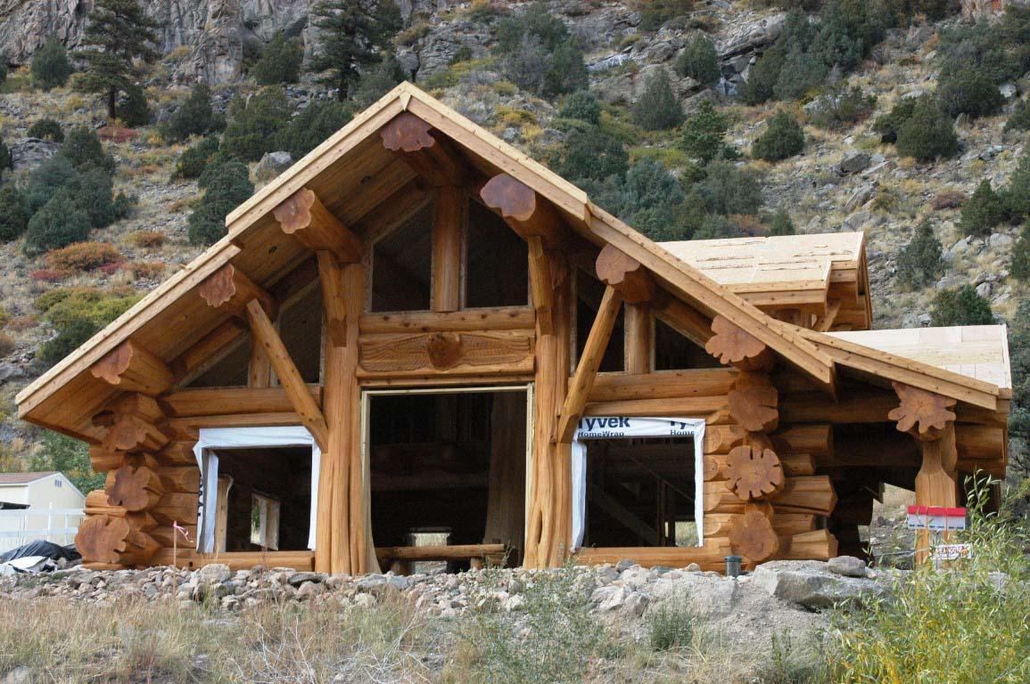 Фото необычных деревянных домов