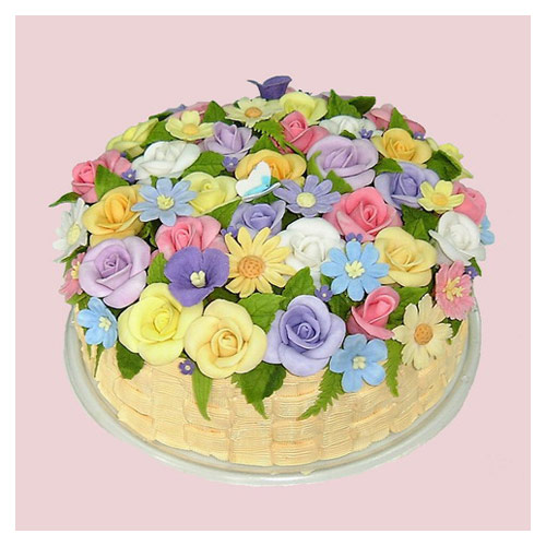 Images Cake And Flowers : Wedding Flowers: Flowers Cake