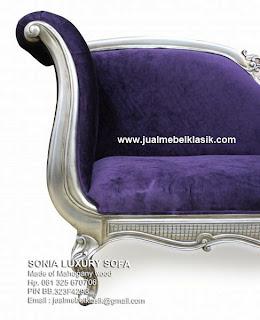 Mebel klasik sofa mahoni ukir sofa klasik finishing cat silver sofa dari jepara