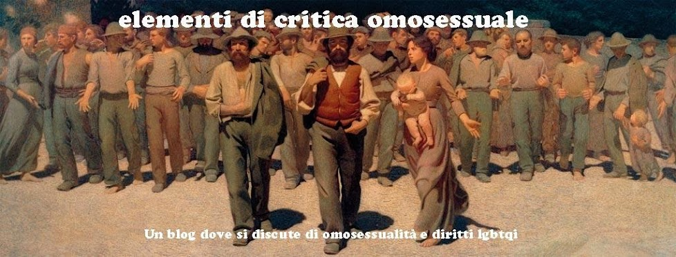 Elementi di critica omosessuale