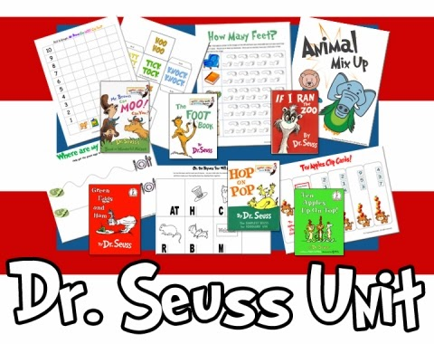 dr seuss unit seuss color and counting books lorax preschool unit from ...