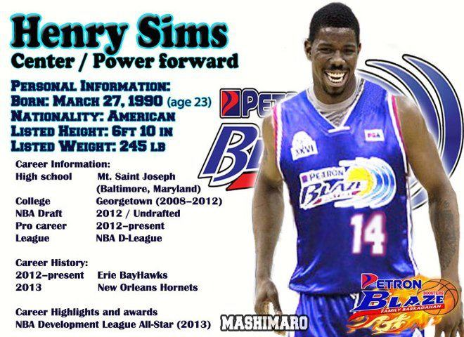 Petron Blazers Welcome New Import Henry Sims