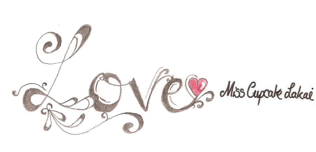 i love you tattoo design