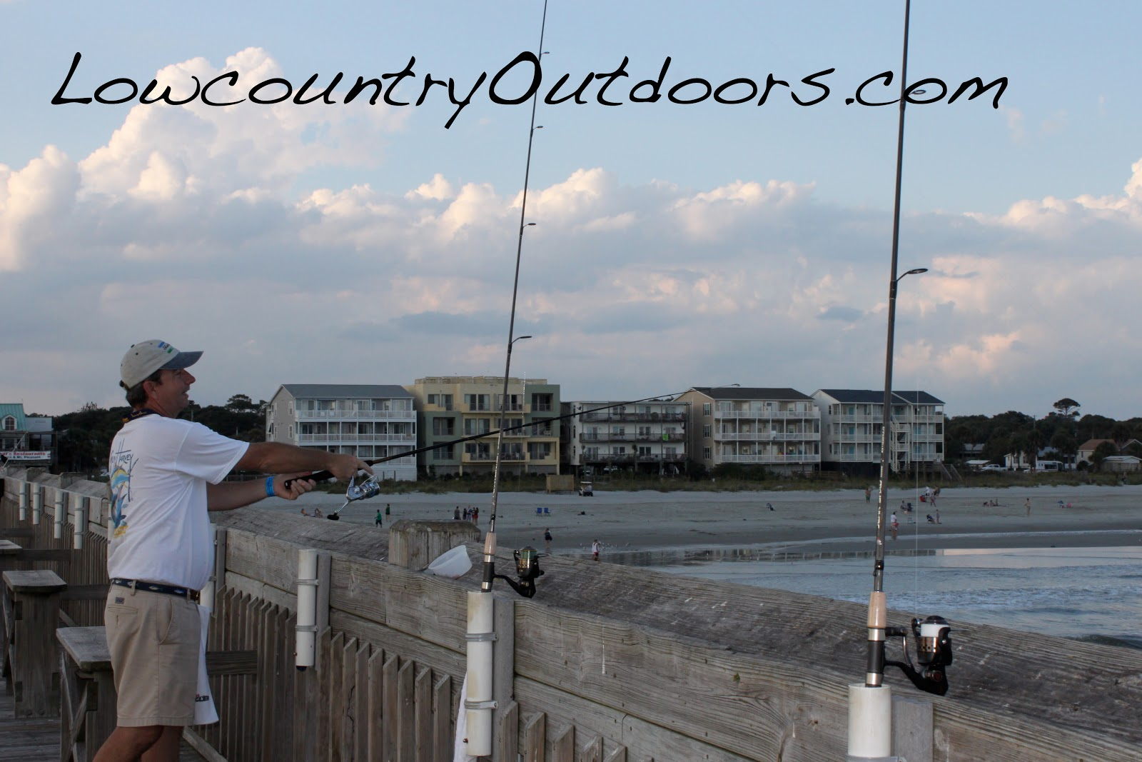 Lowcountry outdoors all star team ast fishing rods for Saltwater pier fishing