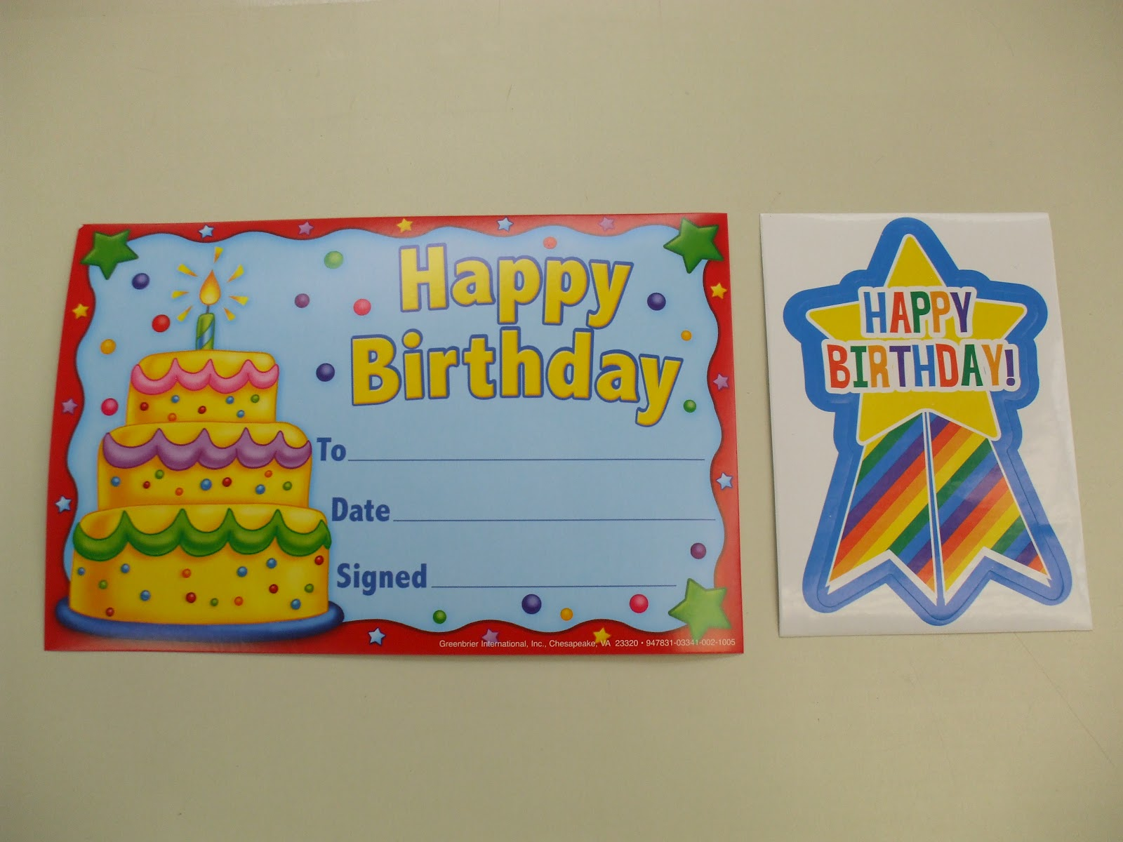 Welcome To First Grade Room 5 Happy Birthday To You