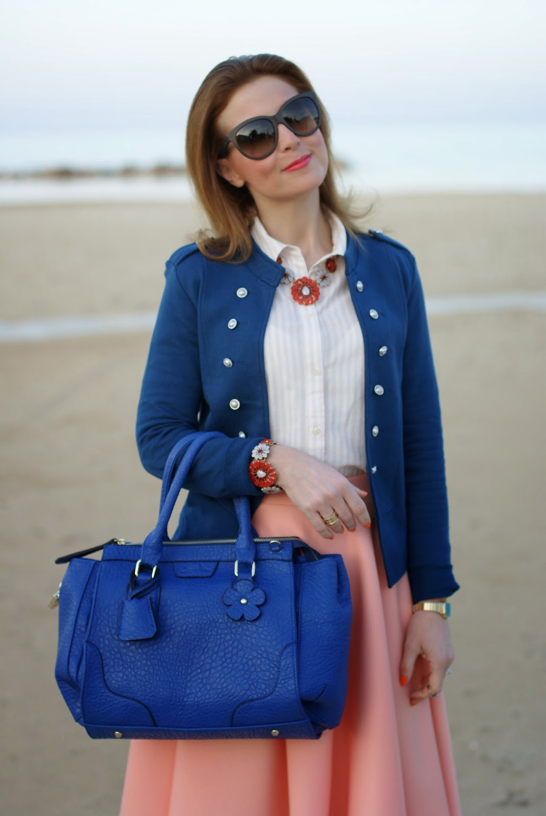 Sodini primavera estate 2014, Sodini IT's bag, orange necklace and bracelet, Fashion and Cookies, fashion blogger
