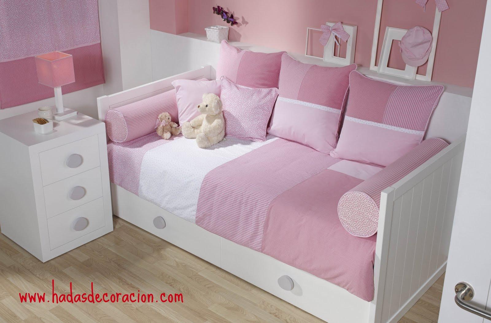 Hadas moda y decoracion infantil coleccion textil de - Ikea textil cama ...
