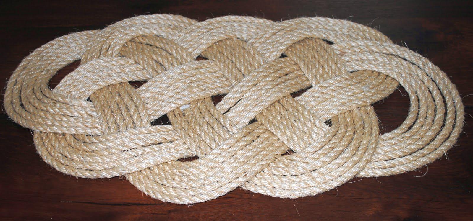 Ocean Plait Rope Door Mat