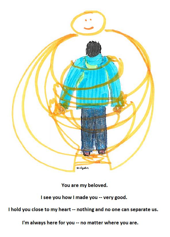 beloved, drawing by robg