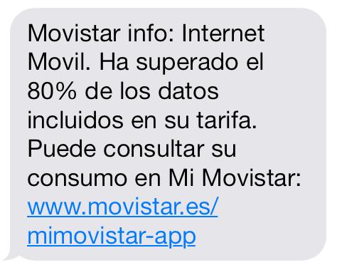 Ahorrar datos en el móvil.