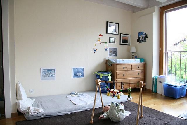 Rustic Modern Montessori Style Rooms