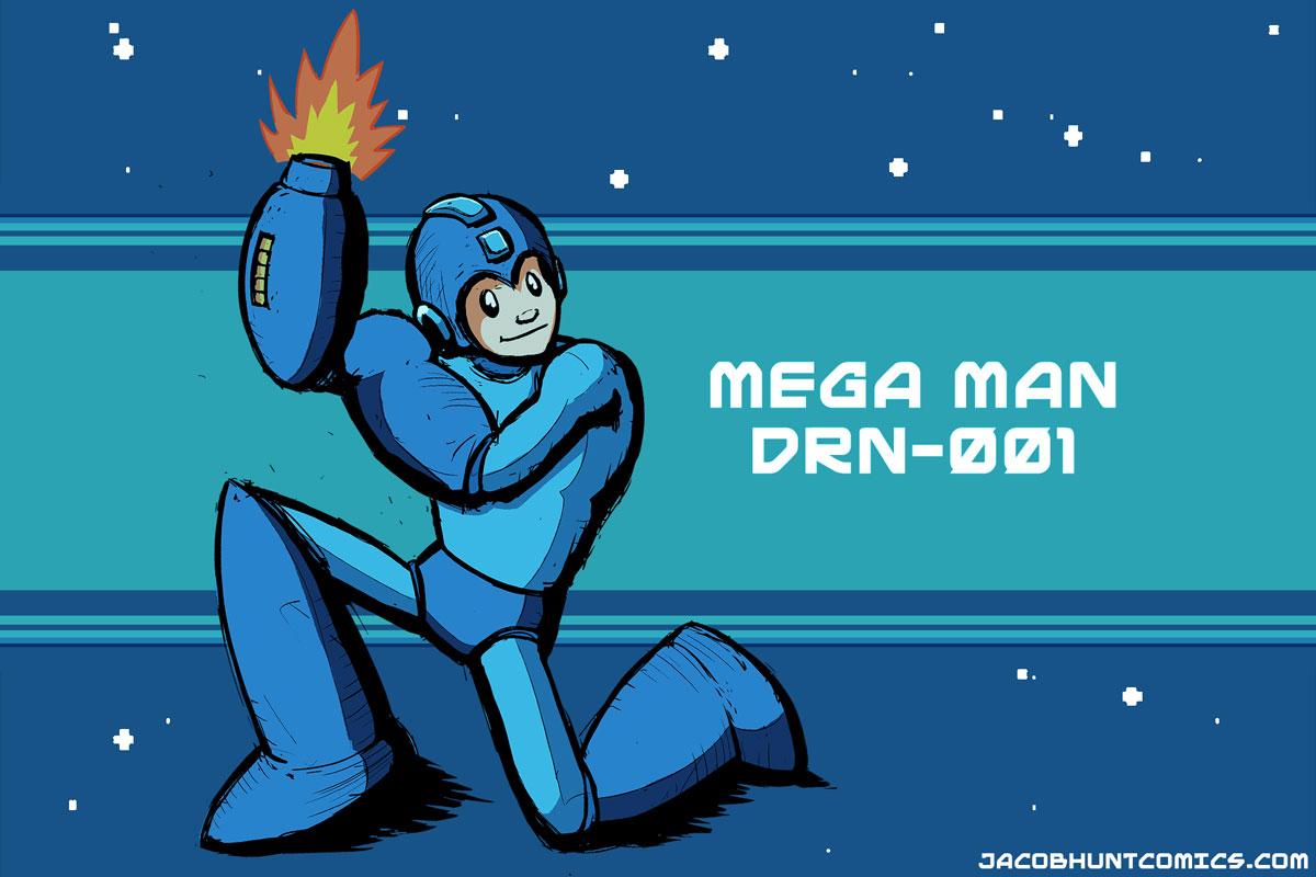 Mega Man, the Blue Bomber