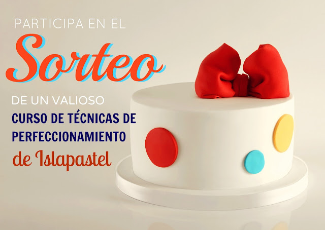 Sorteo cursos de pasteles decorados