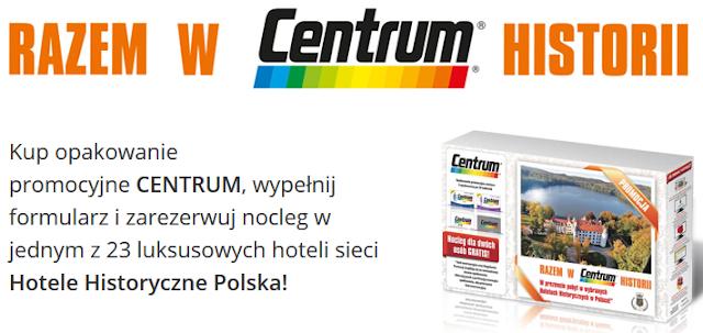 Darmowy pobyt w Hotele Historyczne Polska za zakup witamin Centrum