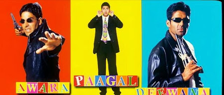Poster Of Bollywood Movie Awara Paagal Deewana (2002) 300MB Compressed Small Size Pc Movie Free Download worldfree4u.com