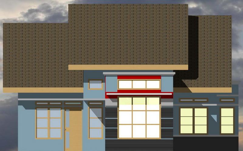 Ragam inspirasi Model Rumah Minimalis Type 90 1 Lantai 2015 yg apik