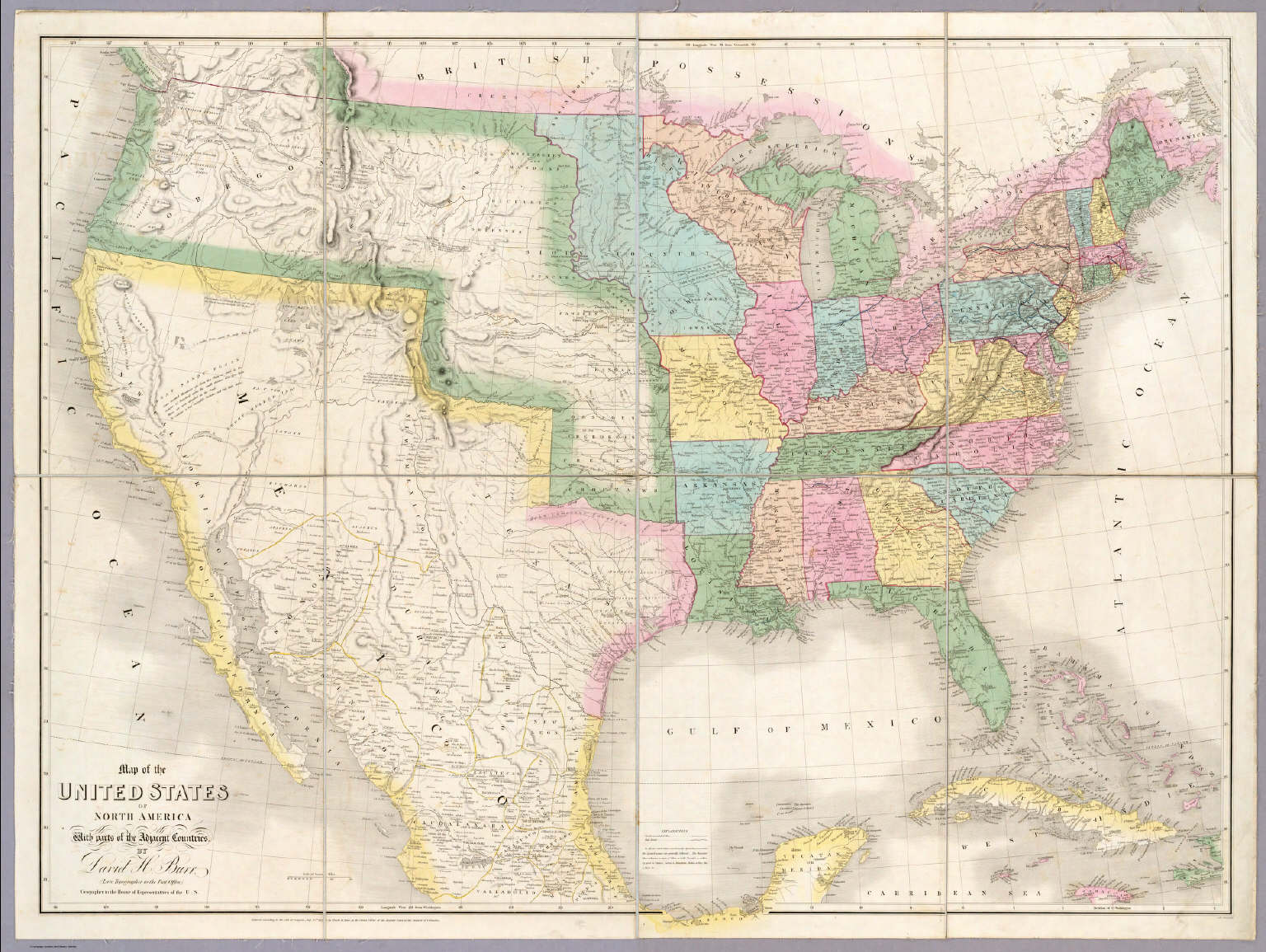 Antique Prints Blog Shaping The TransMississippi West - Us map west of the mississippi