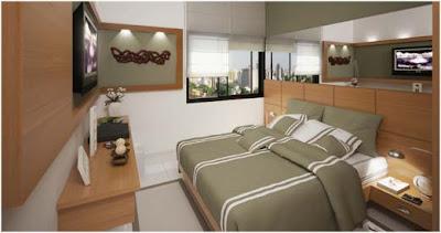 Foto de dormitorio moderno