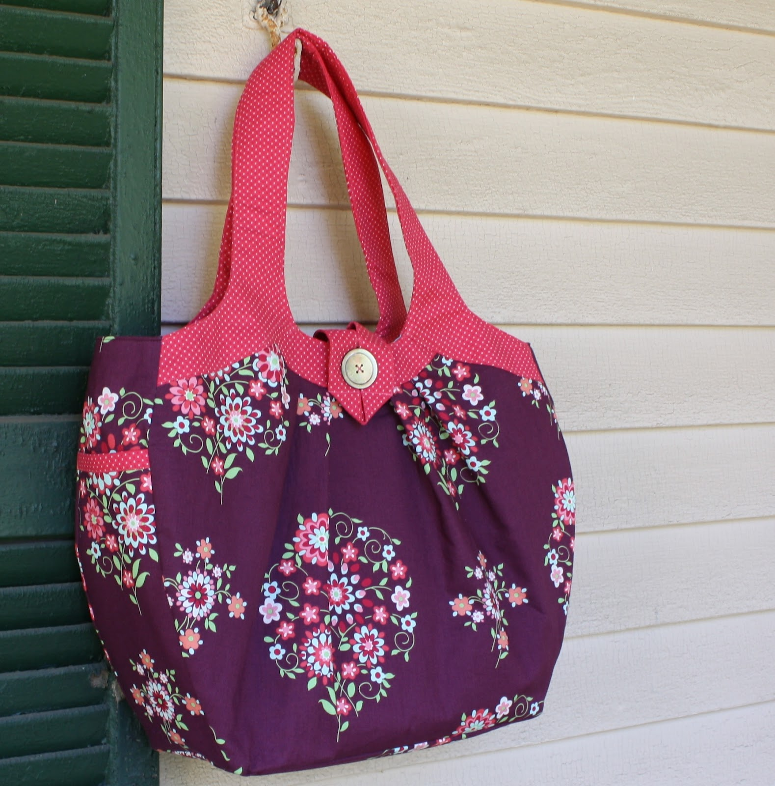 Amy Butler Knitting Bag Pattern : Eleanor Meriwether: Amy Butler Cosmo Bag