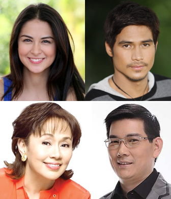 Marian Rivera, Richard Yap and Piolo Pascual in Vilma Santos' Indie Movie 'Extra'
