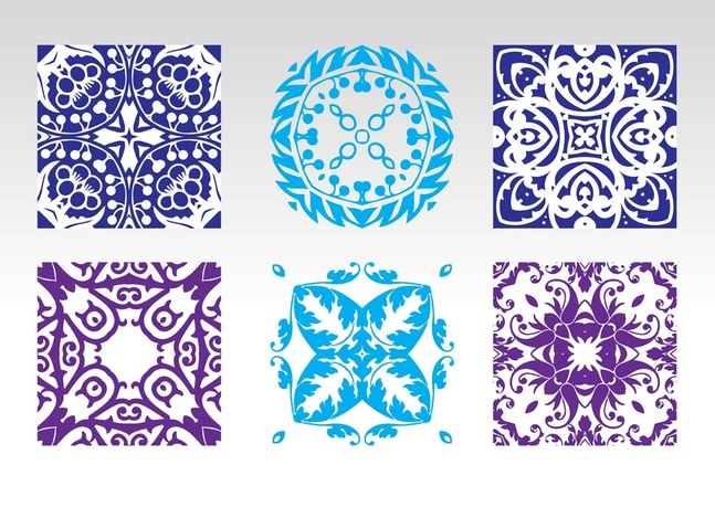 Free Seamless Floral Vector Patterns Graphics