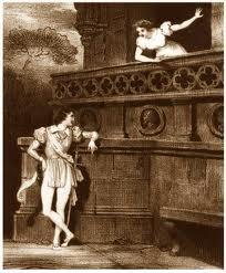Grabado de Romeo y Julieta
